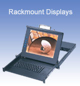 Industrial Rackmount Displays and Keyboards